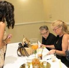 2015 Annual Charity Ball: Marlene Henry, Mary Walker